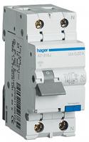 Диференційний автоматичний вимикач 1+N, 10A, 30 mA, С, 6 КА, A, 2м