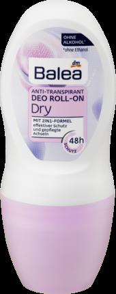 Дезодорант роликовый Свежесть и Чистота  Balea Deo Roll-on Dry 50 мл