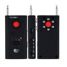 Портативный бюджетный детектор - обнаружитель жучков и объективов скрытых видеокамер Protect CC308+ (01575)