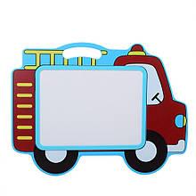 Дерев'яна іграшка Дощечка MD 2085 магнітна (Машинка)