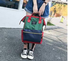 Каркасний трансформер сумка-рюкзак Кольоровий