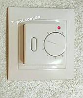 Терморегулятор для теплого пола rtc-70 SL с установкой в наборную рамку или отдельно