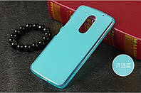 TPU чехол для Lenovo Vibe X3 голубой