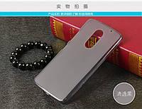 TPU чехол для Lenovo Vibe X3 серый