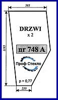 Стекло Fortschritt ZT 323-А двери короткая версия
