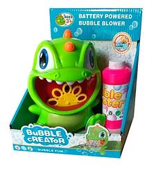 Детская установка для мыльных пузырей Дракон с запаской Metr+ 9806