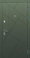 Двері вхідні SARMAK Дакота Комфорт 960 R,L Венге/Дуб білий