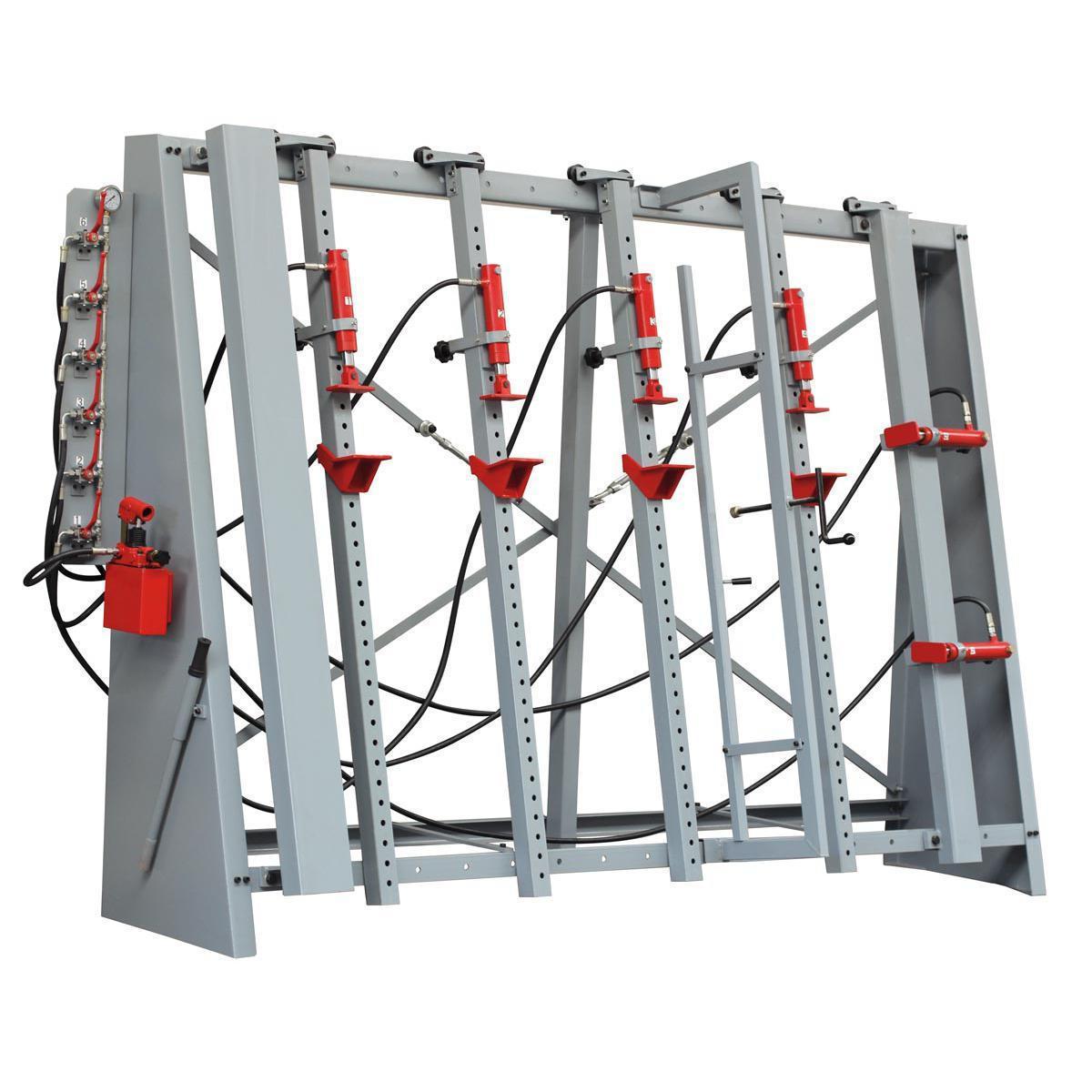 Пресс для склеивания с прижимными элементами на рамной конструкции Holzmann VSTR 3000