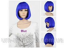 Парик леди Баг синий парик
