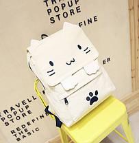 Вместитеьный тканевый рюкзак Кошка, фото 3