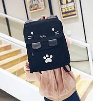 Вместитеьный тканевый рюкзак Кошка, фото 2