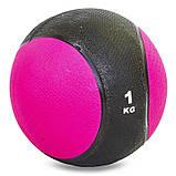 М'яч медичний медбол Record Medicine Ball C-2660-1 1кг, фото 6