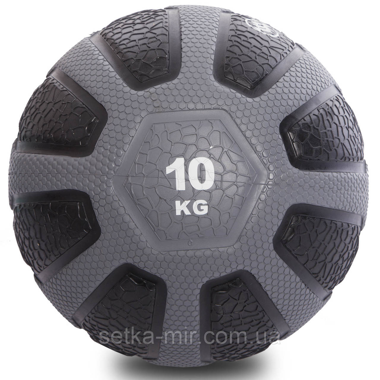 Мяч медицинский медбол Zelart Medicine Ball FI-0898-10 10кг