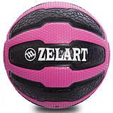 М'яч медичний медбол Zelart Medicine Ball FI-0898-3 3 кг, фото 2