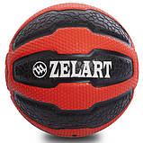М'яч медичний медбол Zelart Medicine Ball FI-0898-5 5кг, фото 2