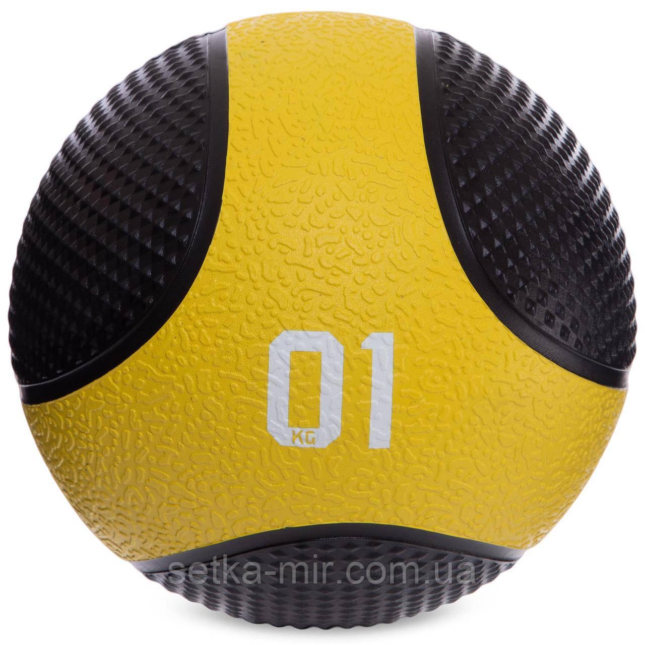 М'яч медичний медбол Medicine Ball FI-2824-1 1кг