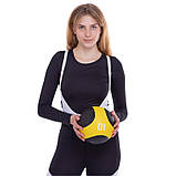 М'яч медичний медбол Medicine Ball FI-2824-1 1кг, фото 5