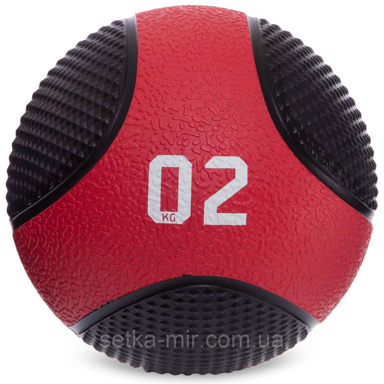М'яч медичний медбол Medicine Ball FI-2824-2 2 кг