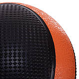 М'яч медичний медбол Medicine Ball FI-2824-3 3 кг, фото 3