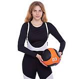 М'яч медичний медбол Medicine Ball FI-2824-3 3 кг, фото 5