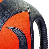 М'яч медичний медбол з двома ручками Record Medicine Ball FI-5111-8 8кг, фото 3