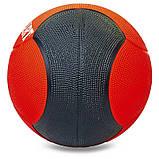 Мяч медицинский медбол Zelart Medicine Ball FI-5121-3 3кг, фото 2