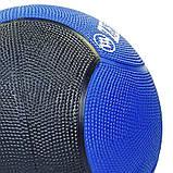 М'яч медичний медбол Zelart Medicine Ball FI-5121-4 4кг, фото 3
