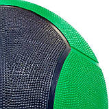 М'яч медичний медбол Zelart Medicine Ball FI-5121-7 7кг, фото 3