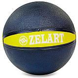 М'яч медичний медбол Zelart Medicine Ball FI-5122-1 1кг, фото 2