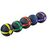 М'яч медичний медбол Zelart Medicine Ball FI-5122-1 1кг, фото 3