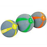 М'яч медичний медбол Zelart Medicine Ball FI-5122-10 10кг, фото 3