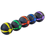 М'яч медичний медбол Zelart Medicine Ball FI-5122-3 3 кг, фото 3