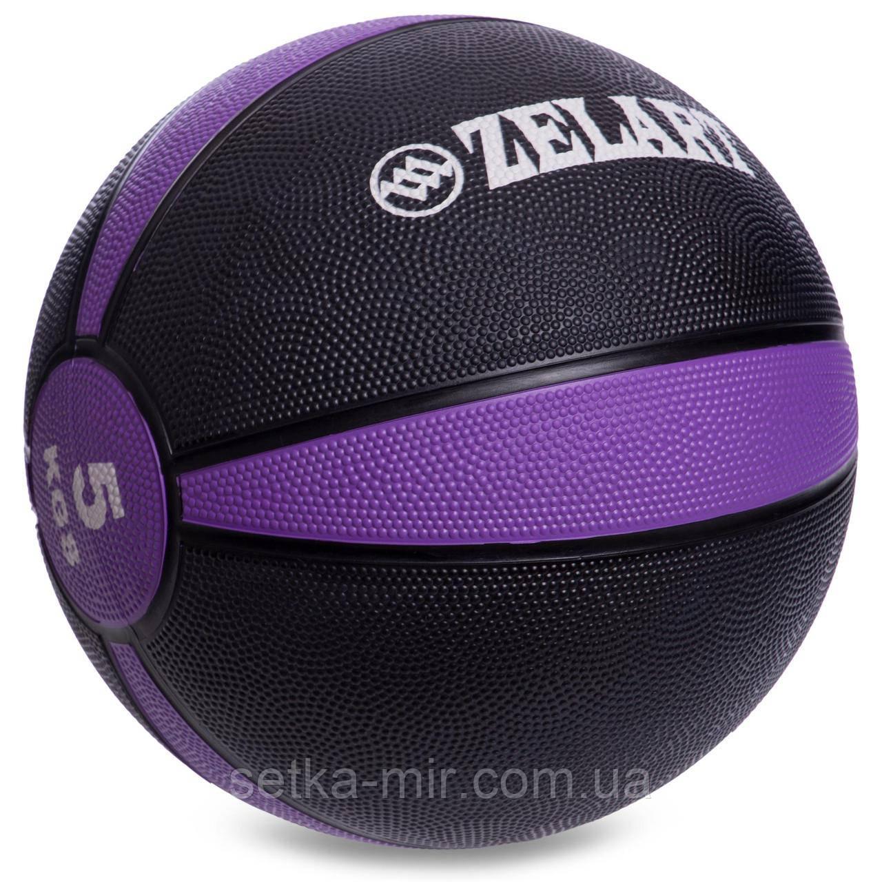М'яч медичний медбол Zelart Medicine Ball FI-5122-5 5кг