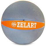 М'яч медичний медбол Zelart Medicine Ball FI-5122-8 8кг, фото 2