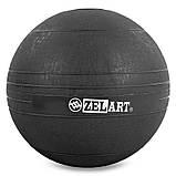Мяч набивной слэмбол для кроссфита Record SLAM BALL FI-5165-10 10кг, фото 2