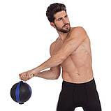 М'яч медичний медбол з мотузкою Zelart Medicine Ball FI-5709-3 3 кг, фото 5