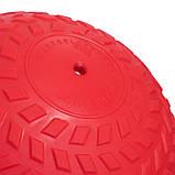 М'яч набивної слембол для кроссфіта рифлений Record SLAM BALL FI-5729-2 2 кг, фото 3