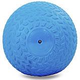 М'яч набивної слембол для кроссфіта рифлений Record SLAM BALL FI-5729-6 6кг, фото 2