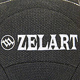 М'яч для кроссфіта набивної в кевларовой оболонці 7кг Zelart WALL BALL, фото 4