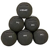 М'яч для кроссфіта набивної в кевларовой оболонці 7кг Zelart WALL BALL, фото 7