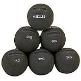 М'яч для кроссфіта набивної в кевларовой оболонці 9кг Zelart WALL BALL, фото 7
