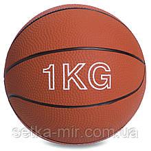 Мяч медицинский медбол Record Medicine Ball SC-8407-1 1кг