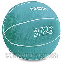 М'яч медичний медбол Record Medicine Ball SC-8407-2 2 кг