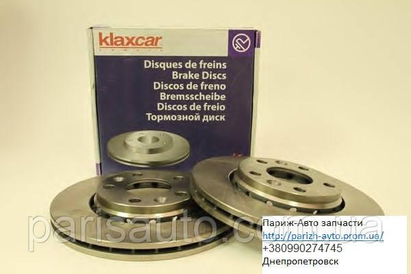 Тормозной диск RENAULT AV vent.  KLAXCAR FRANCE 25079z valeo (197192)