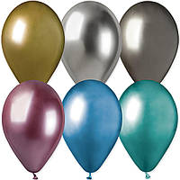 "Кулька 13"" ХРОМ асорті GEMAR Shiny assorted (GB120 ) 50 од."