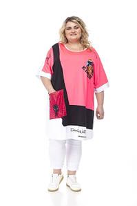 Туники,рубашки,блузы больших размеров от 48 до 82