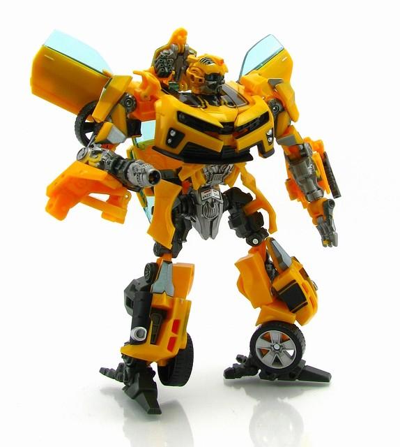 Трансформер Бамблби и Сэм Уитвики - Bumblebee&Sam Witwicky, TF2, Human Alliance, 20CM