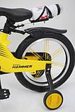 Велосипед 16-Hammer Brilliant HMR-880 Желтый, фото 4