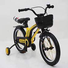 Велосипед 16-Hammer Brilliant HMR-880 Желтый