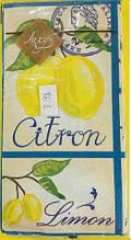 Праздничная салфетка (ЗЗхЗЗ, 10шт) Luxy MINI Свежесть лимона (987) (1 пач)